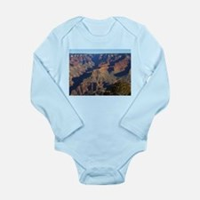 Cute Grand canyon picture Long Sleeve Infant Bodysuit