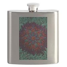 Flower Mandala Flask