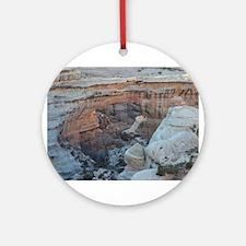 Scenes of Utah Round Ornament