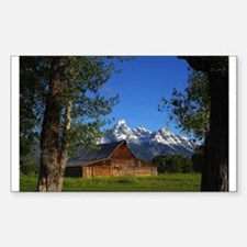 Grand Tetons Naional Park Decal