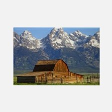 Grand Tetons Naional Park Rectangle Magnet