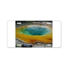 yellowstone national park Aluminum License Plate