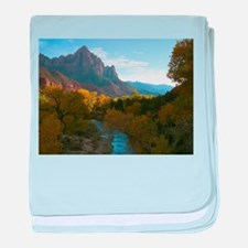 Zion Ntional Park baby blanket
