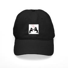 giant schnauzer hearts love i Baseball Hat