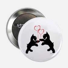 giant schnauzer hearts love i Button