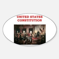 united states constitution Decal