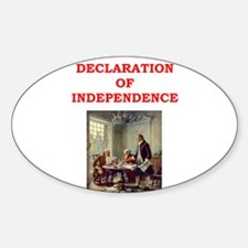 declaration of independence Decal