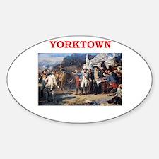 YORKTOWN.png Sticker (Oval)