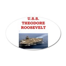 theodore roosevelt Wall Decal