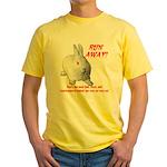 Foul Rabbit Yellow T-Shirt