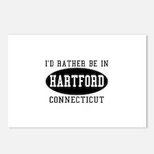 I'd Rather Be in Hartford, Co Postcards (Package o