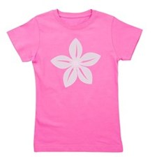 Abstract Pastel Pink Vintage Flower Girl's Tee