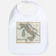 Vintage Map of Italy (1799) Bib