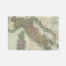 Vintage Map of Italy (1799) Magnets