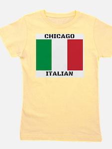 Chicago Italian Pride Girl's Tee
