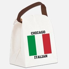 Chicago Italian Pride Canvas Lunch Bag