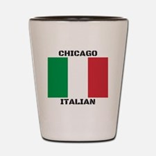 Chicago Italian Pride Shot Glass