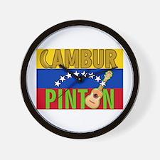 Cambur Pinton (B) Wall Clock