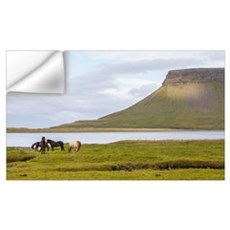 Icelandic Horses Vesturland Island Wall Decal