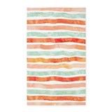 Mint and orange 3x5 Rugs