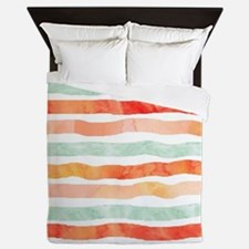 Funny Orange Queen Duvet