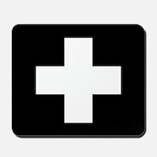 Medical Cross Symbol Mousepad