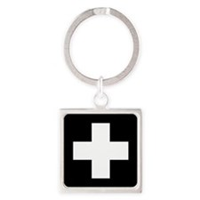 Medical Cross Symbol Keychains