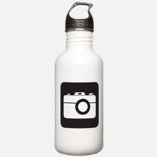 Photography Symbol Water Bottle