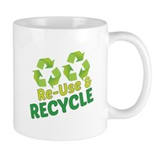 Re-Use & Recycle Mugs