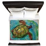 Sea turtle King Duvet Covers