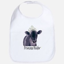 Cow Art Heifer Princess Bib