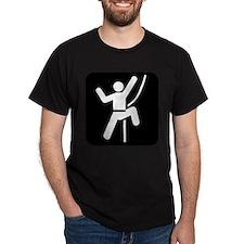 Rock Climbing Park Symbol T-Shirt