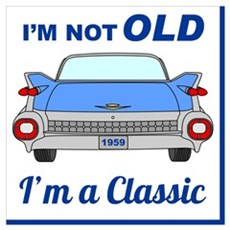 Old Classic 1959 Cadillac Poster
