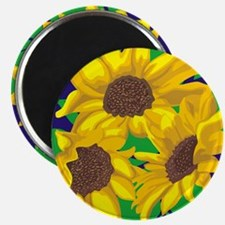 Sunny Days Sunflowers Magnets
