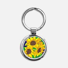 Sunny Days Sunflowers Keychains
