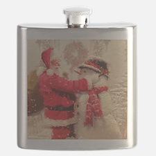 Cute Christmas Flask