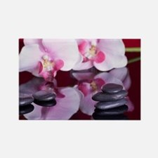 Cute Orchids Rectangle Magnet