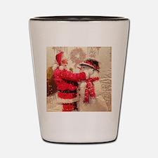 Funny Christmas Shot Glass