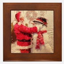 Cute Winter Framed Tile