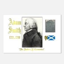 Adam Smith. Postcards (Package of 8)