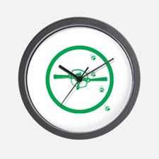 Trapper Wall Clock