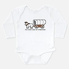 Funny Retro Long Sleeve Infant Bodysuit