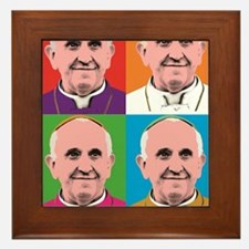 Pope Francis Tour Framed Tile