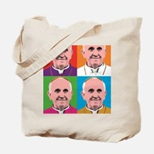 Pope Francis Tour Tote Bag