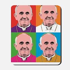 Pope Francis Tour Mousepad