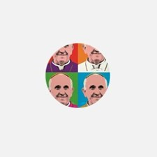 Pope Francis Tour Mini Button