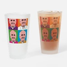 Pope Francis Tour Drinking Glass