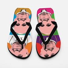 Pope Francis Tour Flip Flops