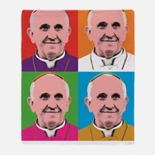 Pope Francis Tour Throw Blanket