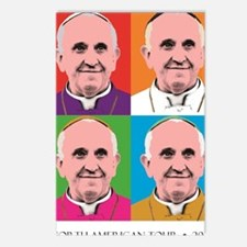 Pope Francis Tour Postcards (Package of 8)